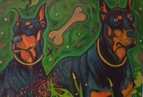 Dobermans by Richard Batty