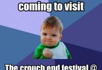 Crouch End Festival-meme