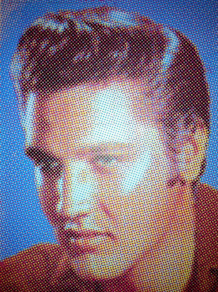 Elvis screen print